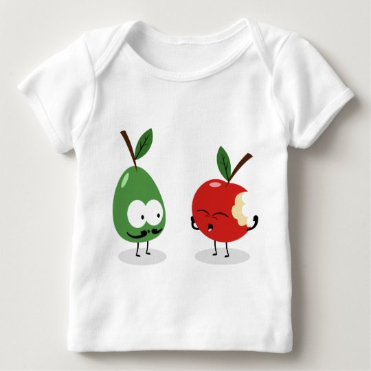 Apple and Pear Baby T-Shirt