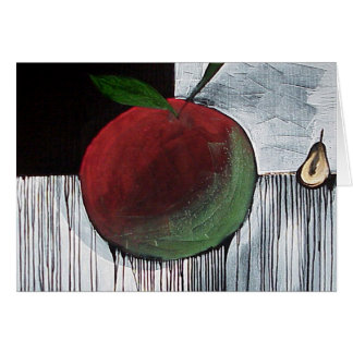 Apple and Pear by Gregory Gallo Card