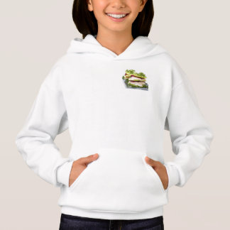 Apple and trout appetizer hoodie