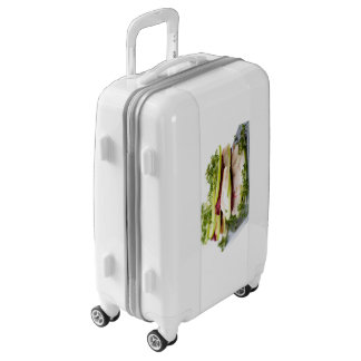 Apple and trout appetizer luggage