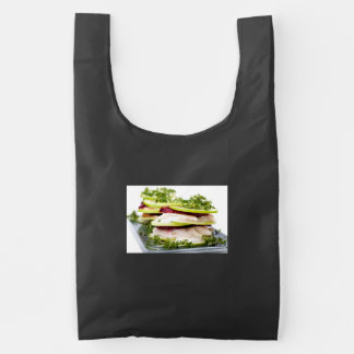 Apple and trout appetizer reusable bag