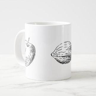 Apple and Walnut Mug