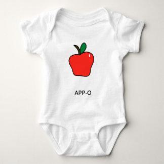 Apple (App-o) Baby Bodysuit