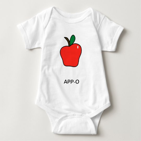 Apple (App-o) Baby Bodysuit