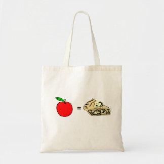 apple, apple pie tote bag