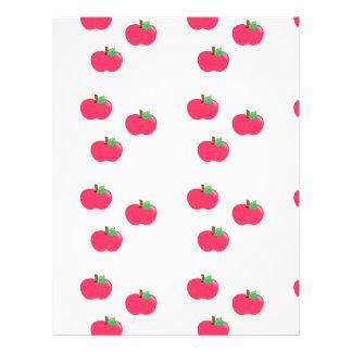apple apples fruit food vine custom personalize letterhead