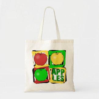 Apple Art Tote Bag