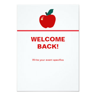 Apple, Back to School Card