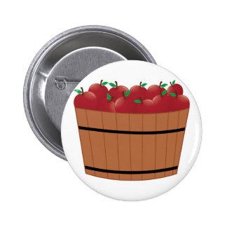 Apple Barrel Pinback Button