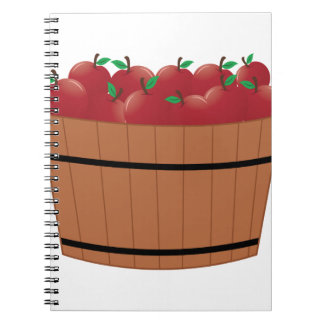 Apple Barrel Spiral Notebook