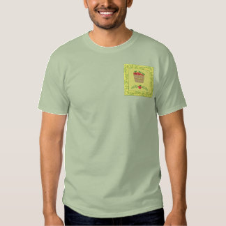 Apple Basket Embroidered T-Shirt