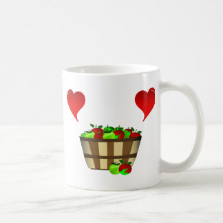 Apple Basket Love Coffee Mug