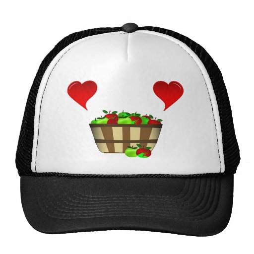 Apple Basket Love Trucker Hat