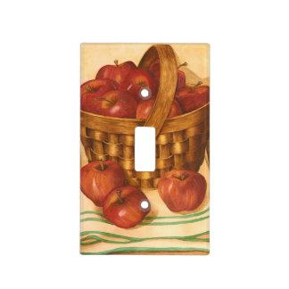 Apple Basket Still Life - Light Switch Cover