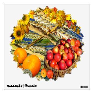 Apple Basket ~ Wall Decal