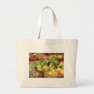 Apple Baskets at Market Bags