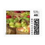 Apple Baskets at Market Stamps