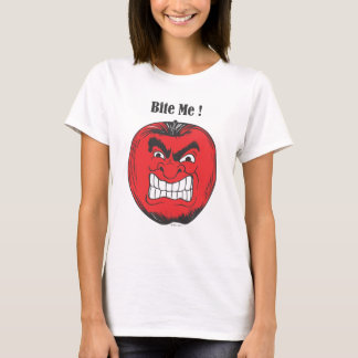 apple bite me 1.ai T-Shirt