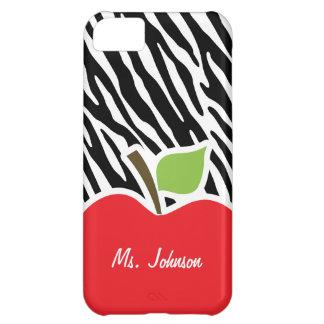 Apple; Black & White Zebra Stripes iPhone 5C Case