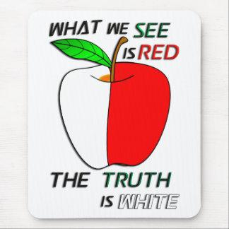 Apple blanco tapetes de ratones