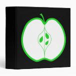 Apple blanco y verde medio