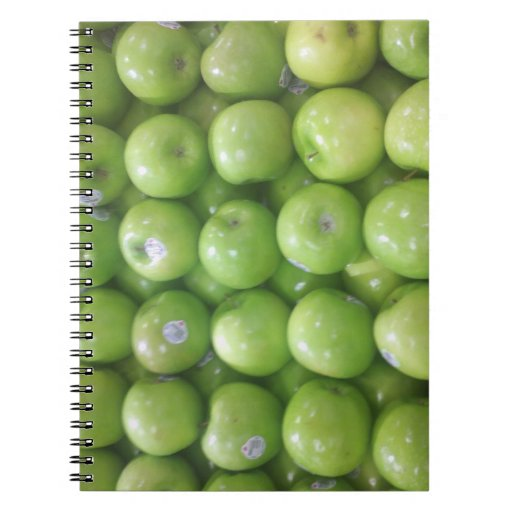 Apple Blank Book Spiral Note Book