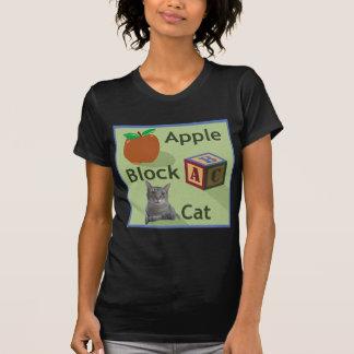 Apple Block Cat Basic T-shirt