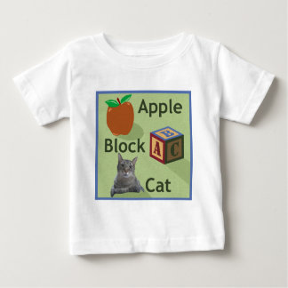 Apple Block Cat Toddler t-shirt