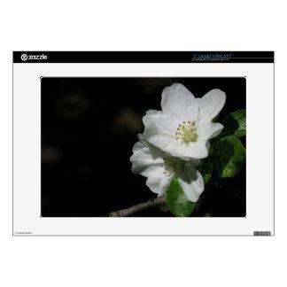 """Apple blossom 15"""" laptop skin"""