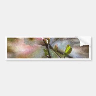 Apple Blossom Art Bumper Sticker