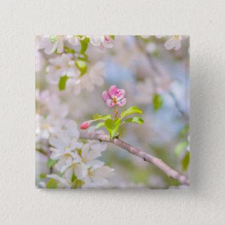 Apple blossom - Beauty Pinback Button