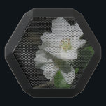 """Apple blossom black bluetooth speaker<br><div class=""""desc"""">Elegant and delicate blossom of an apple tree. Ideal gift for a flower lover or a nature girl.</div>"""