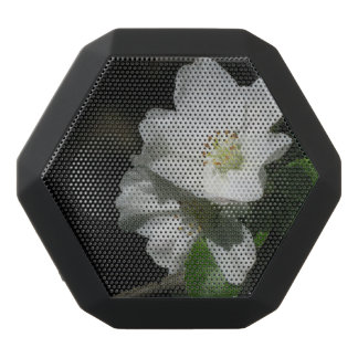 Apple blossom black bluetooth speaker