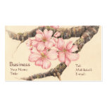 Apple Blossom Branch Double-Sided Standard Business Cards (Pack Of 100)
