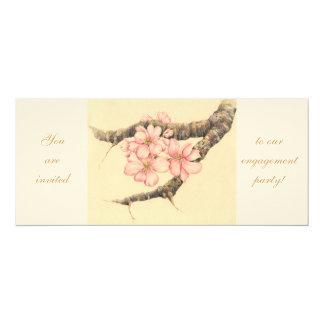 Apple Blossom Branch, Card