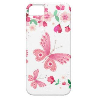 apple blossom butterflies iPhone SE/5/5s case
