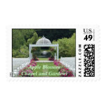 Apple Blossom Chapel and Gardens Postage Stamps