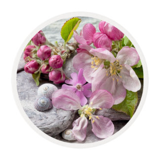 Apple Blossom Edible Frosting Rounds