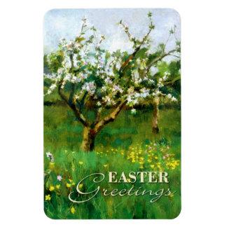 Apple Blossom. Fine Art Easter Gift Magnet