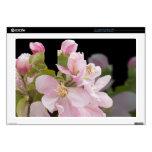 """Apple Blossom Flowers Skins For 17"""" Laptops"""