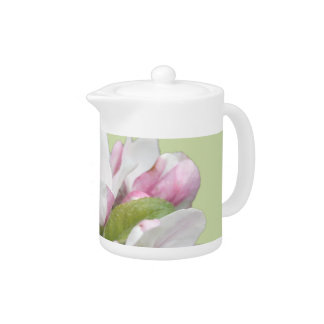 Apple blossom gift, for birthday, holiday, friends teapot