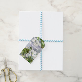 Apple blossom gift tags