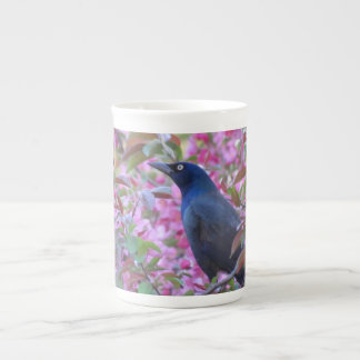 Apple Blossom Grackle Tea Cup