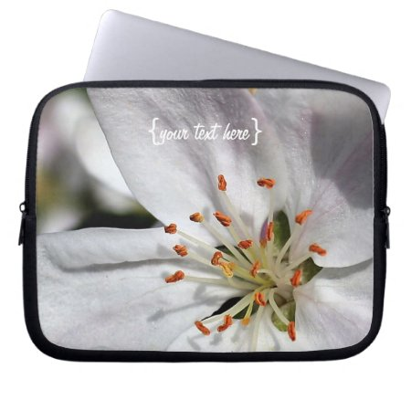 Apple Blossom in Spring Laptop Computer Sleeve