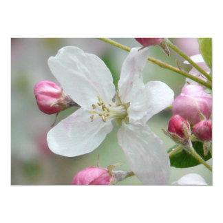 Apple Blossom 5.5x7.5 Paper Invitation Card