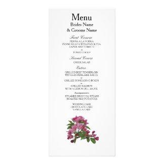 Apple Blossom Modern Simple Elegant WeddingIdeas Rack Card