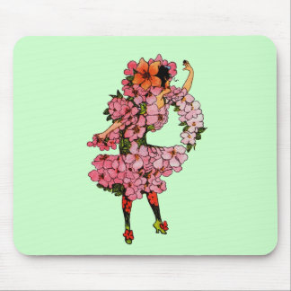 Apple Blossom Mouse Pad