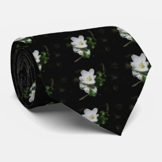 Apple blossom neck tie