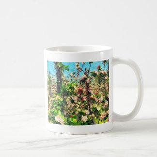 Apple Blossom Oil Painting Coffee Mug