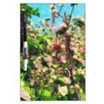 Apple Blossom Oil Painting Dry Erase Boards